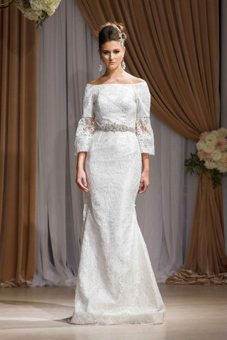 jean-ralph-thurin-fall-2016-off-the-shoulder-wedding-dress-with-unique-sleeves