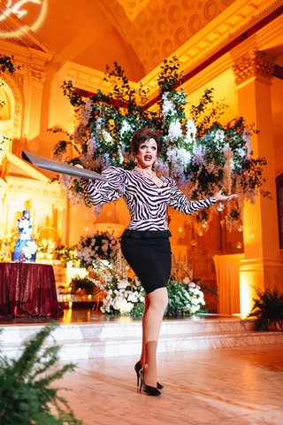 morgan-mcmichaels-performing-at-gay-wedding-at-vibiana-in-la