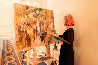 live-event-painter-laura-swytak-at-houston-wedding