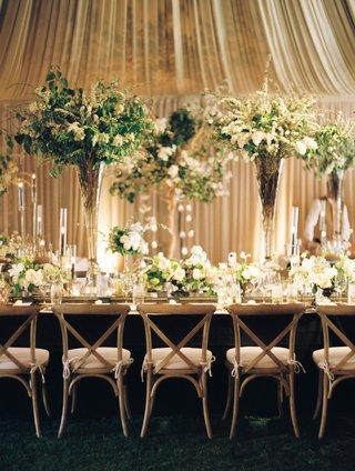 wedding-with-masculine-meets-english-countryside-theme-dark-wood-black-light-wood-greenery-neutral
