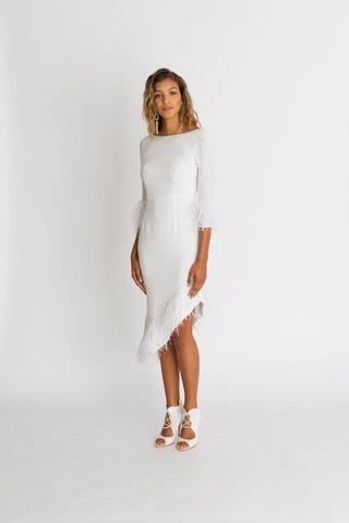 alexandra-grecco-fall-winter-2018-the-magic-hour-wedding-dress-margaux-high-neck-short-gown-ruffle