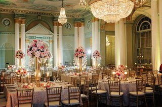 handpainted-ballroom-ceilings-and-crystal-chandeliers-over-reception