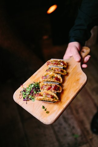 ahi-tuna-tartare-tacos-rustic-chic-wedding-professional-event-farmhouse-california-food-delicious