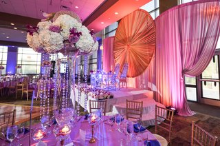 tall-centerpieces-with-hydrangea-lavender-rose-lilac-calla-lily-and-crystal