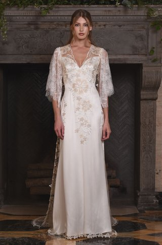 claire-pettibone-fall-2017-embroidered-floral-tulle-sheath-illusion-back-paired-with-coat