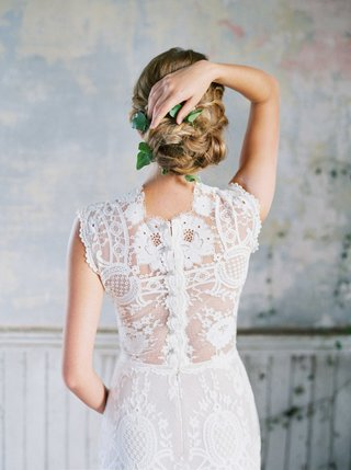 romantique-by-claire-pettibone-back-of-flower-lace-dress-with-button-closure-and-sheer-back