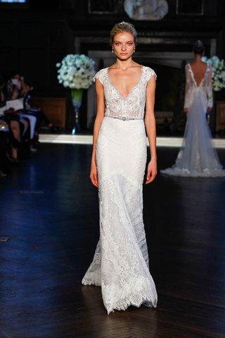 alon-livne-white-fall-2016-v-neck-cap-sleeve-lace-wedding-dress