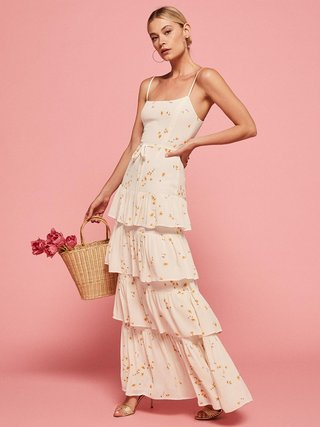 floral-bridesmaid-dress-ivory-with-small-yellow-flowers-foxglove-in-opium-ruffles