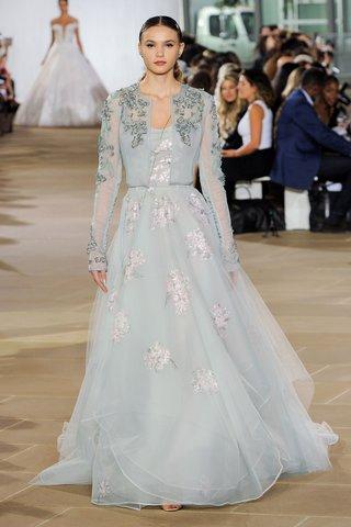 ines-di-santo-fall-2019-bridal-collection-wedding-dress-emeline-pale-blue-hand-painted-a-line-bolero