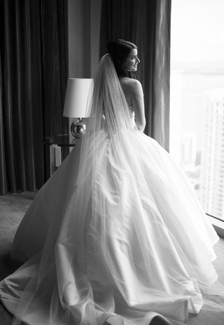 black-and-white-photo-of-pnina-tornai-ball-gown
