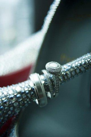 vintage-style-engagement-ring-on-louboutin-heel