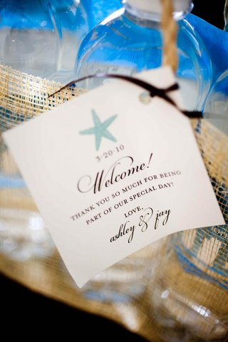 wedding-welcome-stationery-with-blue-starfish-design