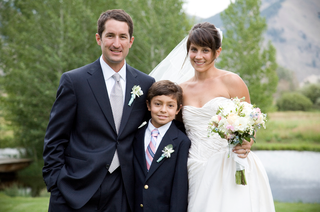bride-and-groom-with-young-boy-in-jackson-hole