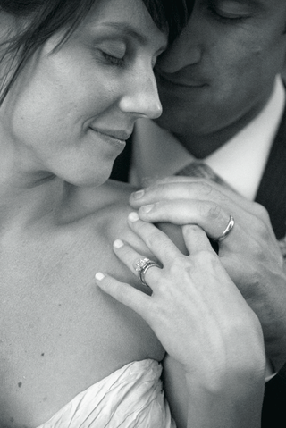 black-and-white-photo-of-couples-rings