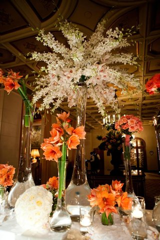 orange-amaryllis-type-flower-pink-roses-and-white-hawaiian-orchids