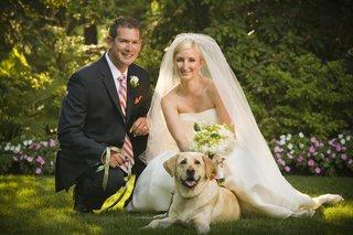 wedding-couple-with-pet-in-wedding