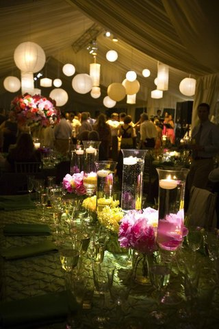 floating-candle-and-flower-centerpiece-tent-wedding