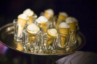 pineapple-mint-sorbet-in-mini-ice-cream-cone