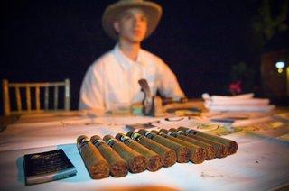 cigar-roller-at-cigar-rolling-station-wedding-reception