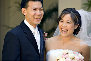man-in-tuxedo-and-woman-in-vera-wang-gown