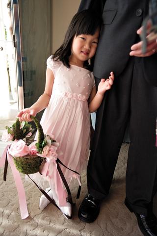 asian-american-flower-girl-in-pink-attire