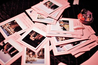 photos-of-guests-on-pink-paper-with-notes