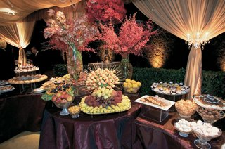 fruit-table-and-dessert-table-at-wedding-reception