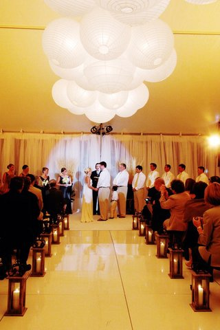 tent-wedding-ceremony-with-paper-lanterns