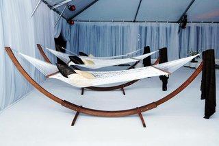 contemporary-hammocks-in-white-reception-tent