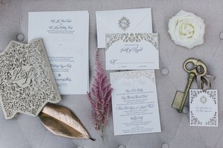 ceci-new-york-wedding-invitation-suite-with-golden-damask-embellishments