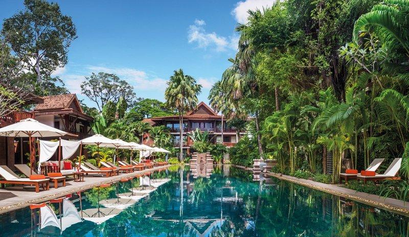 Pool at Belmond La Résidence d'Angkor