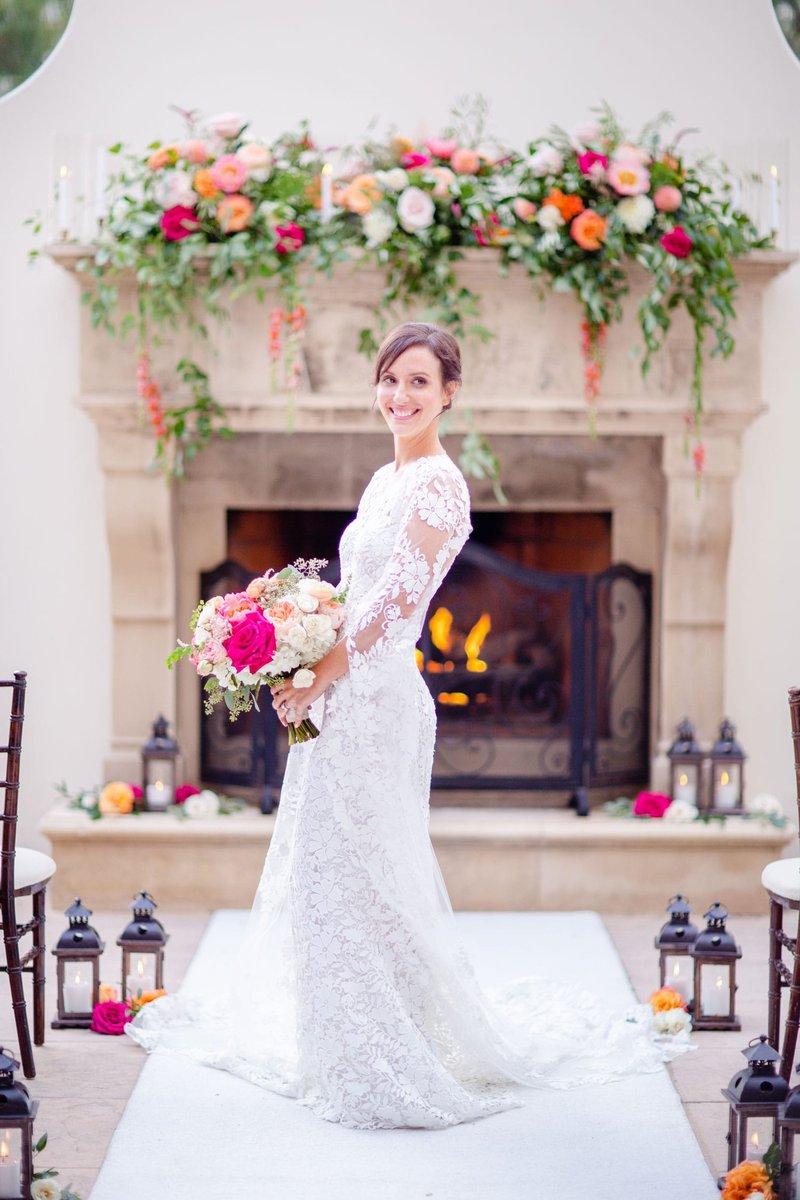 Bride at Avalon Venue at Park Hyatt Aviara