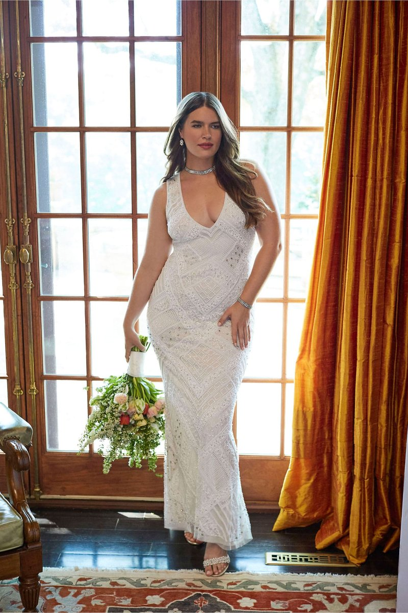 """Remington"" Vintage-Inspired Wedding Dress"