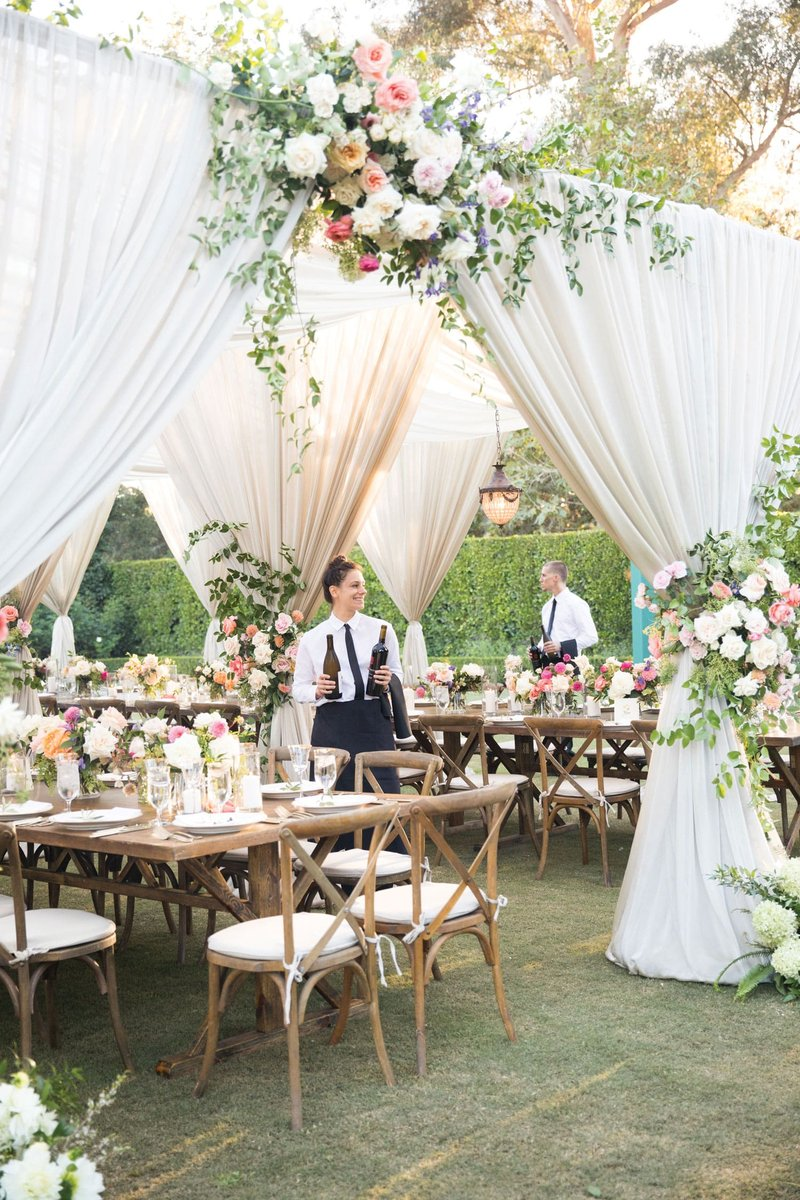 Gorgeous Reception by Beth Helmstetter Events