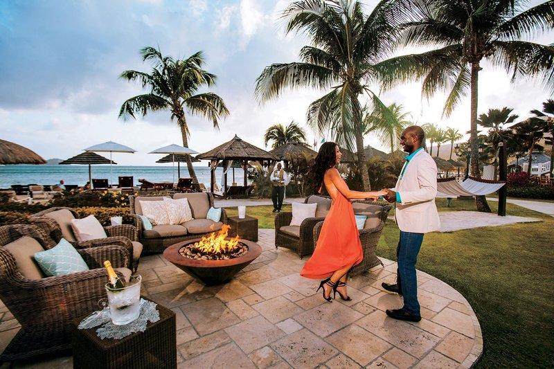 Couple Dancing at Sandals Resorts