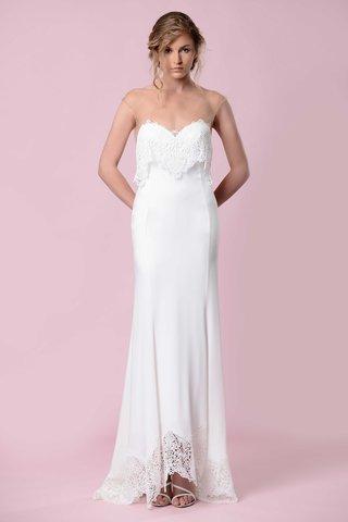 gemy-maalouf-2016-illusion-neckline-wedding-dress-with-lace-overlay-and-lace-hem-boho-wedding-dress