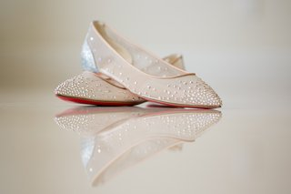 christian-louboutin-follies-strass-mesh-leather-flats-bridal-pointed-flats-for-wedding