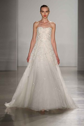 amsale-fall-2016-strapless-a-line-wedding-dress-with-embroidery