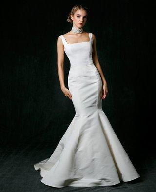 sareh-nouri-fall-2017-wedding-dress-charlotte-trumpet-mermaid-gown-square-neck-straps-train