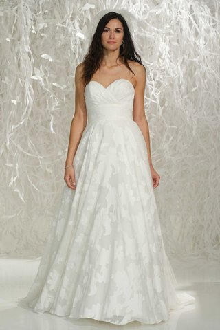 watters-2016-strapless-patterned-wedding-dress-with-sweetheart-neckline