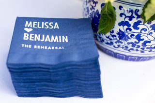 personalized-cocktail-napkins-for-rehearsal-dinner