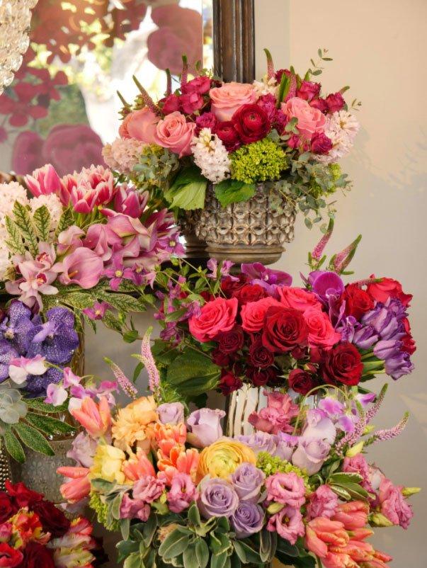 Valentine's Day Flowers from The Hidden Garden