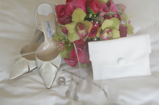 jimmy-choo-wedding-shoes-and-white-fold-bridal-bag
