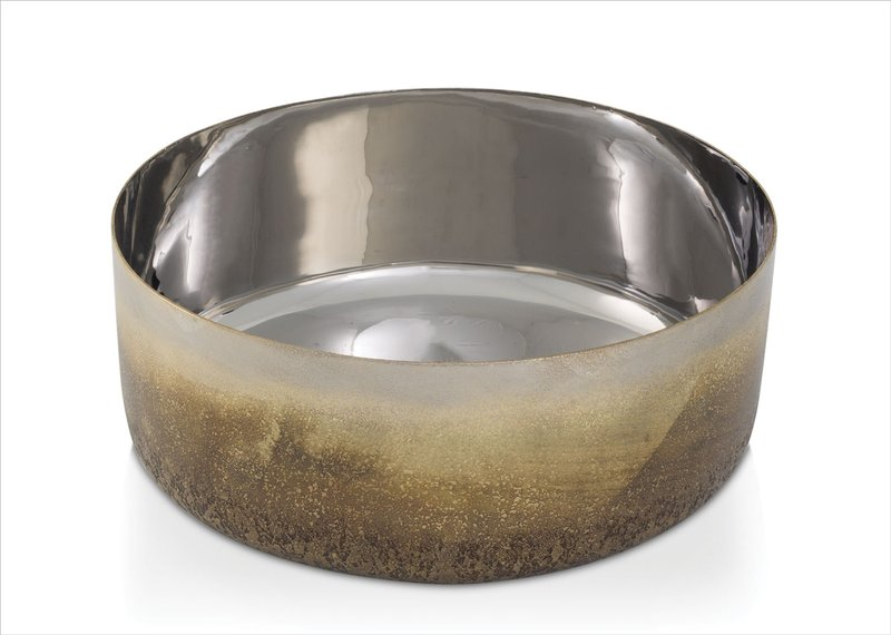 Michael Aram Torched Collection Medium Bowl