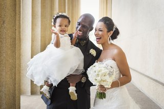 tennessee-titan-with-his-daughter-and-bride-in-a-mark-zunino-dress-at-wedding