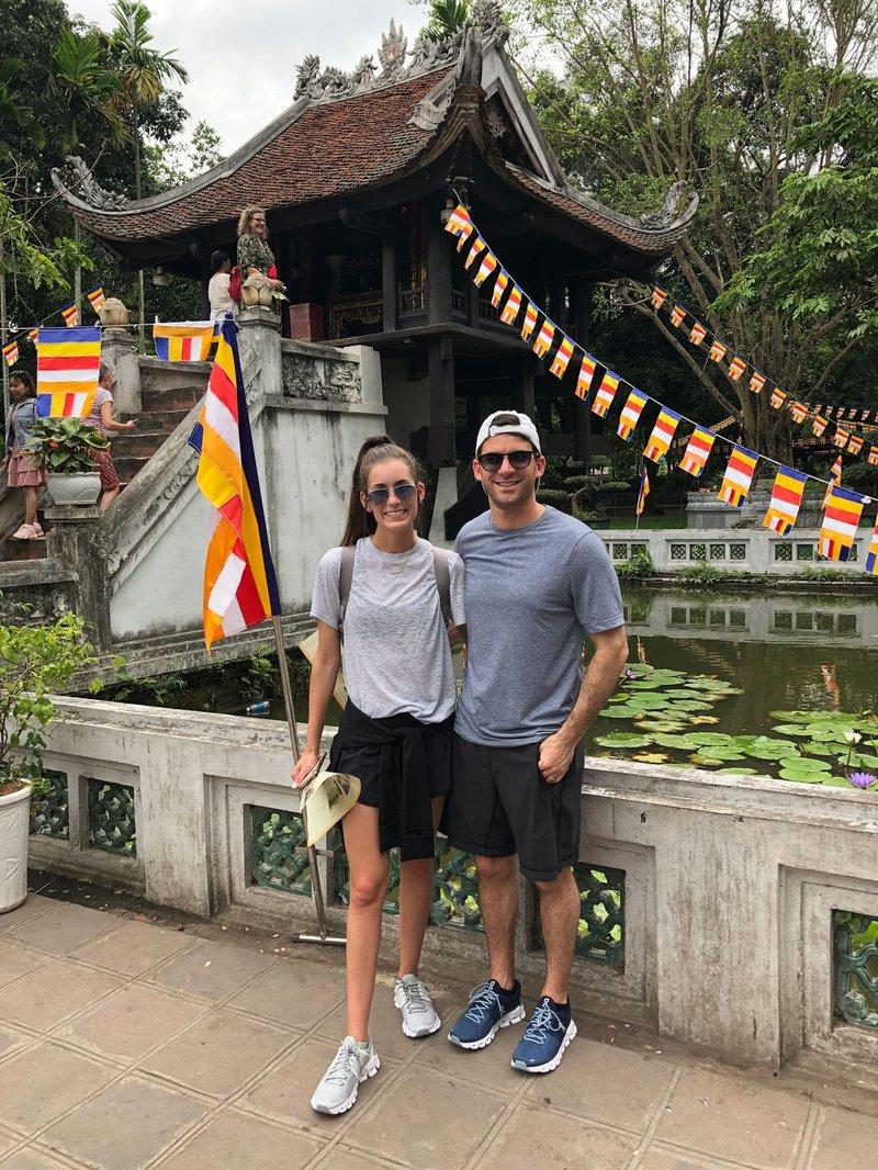 Honeymooners in Hanoi, Vietnam