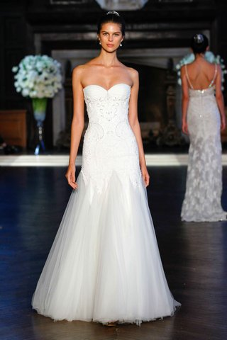alon-livne-white-fall-2016-strapless-drop-waist-wedding-dress-with-tulle-skirt