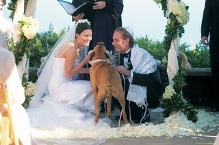 bride-and-groom-at-ceremony-with-boxer