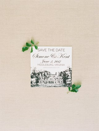 save-the-date-with-drawing-of-venue-and-wedding-website