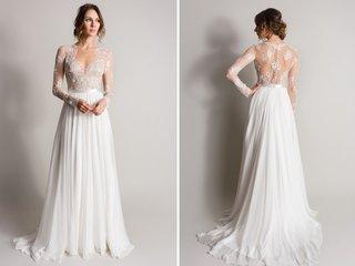sheath-wedding-dress-with-illusion-sheer-bodice